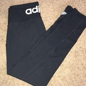 Adidas climalite 7/8 high waisted legging